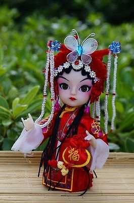 Ancient Chinese Bride Peking Opera Performers Doll Beauty Artistic Home decor