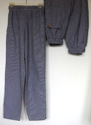 Lot of 3 Pairs of Black/White Plaid Checkered Chef Pants Women's XS