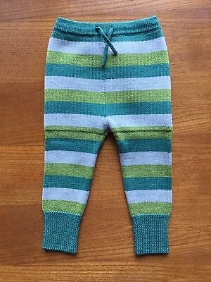 Sloomb Seaweed Scouts 6/18 - Wool Cloth Diaper Cover Pants Longies Sbish