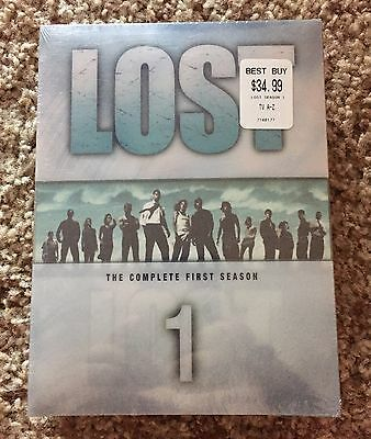 BRAND NEW Lost - The Complete First Season (DVD, 2005, 7-Disc Set) FREE SHIPPING