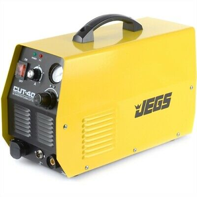 "JEGS 81545 Plasma Cutter 20-40 Amp 110/220VAC Cuts Steel/Iron up to 3/8"" Thick"