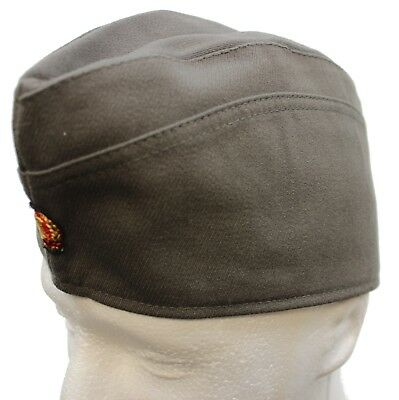 Ddr East German Army Officers Side Forage Hat & Badge