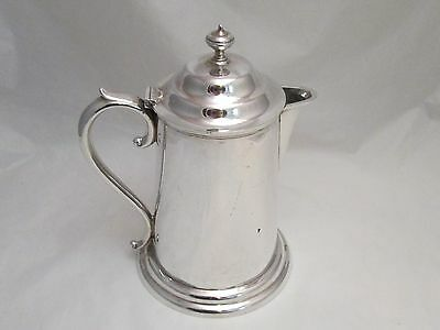A Fine Silver Plated Communion Jug by Goldsmiths of London - c1890