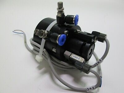 "SMC NCDRB1BW30-180S-R80C Rotary Actuator 270 Degree Rotation .312"" Shaft"
