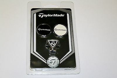 Taylormade Golf Cap Hat Clip And Ball Markers New