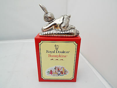 Royal Doulton Bunnykins Silverplated Tooth Fairy Box  In Original Box Unused