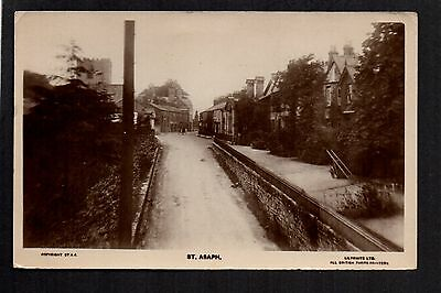 St. Asaph - real photographic postcard