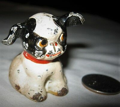 Antique Hubley Pa Usa Fido Comic Dog Cast Iron Desk Art Statue Toy Paperweight