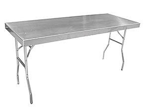 Pit Pal 156 Aluminum Work Table Small