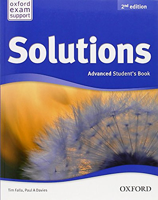 Solutions: Advanced: Student's Book - Paperback NEW Davies/Falla (A 2013-05-09