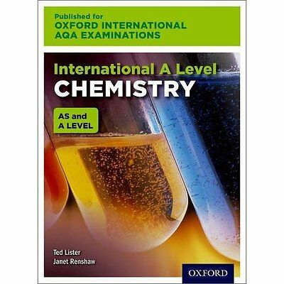 International A Level Chemistry for Oxford Internationa - Paperback NEW Ted List