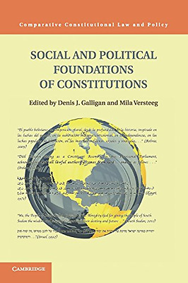 Social and Political Foundations of Constitutions (Comp - Paperback NEW Denis J.