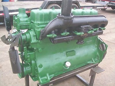 oliver 88,super88,880,1600 farm tractor gas motor engine RUNS STRONG!!