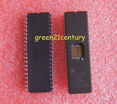 10Pcs  Am27C400-120Dc Amd 27C400 Uv Eprom Dip-40