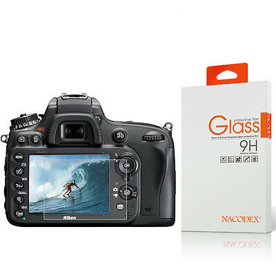 Nacodex HD Tempered Glass Screen Protector For Nikon D800e / D810 / D7100 / DF