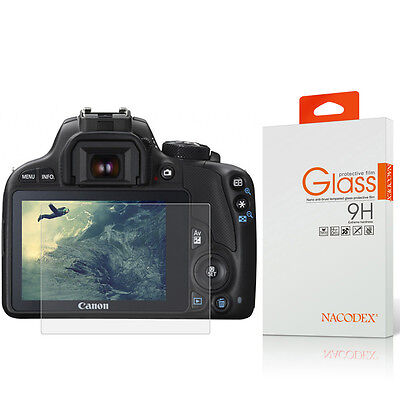 NX HD Tempered Glass Screen Protector For Canon EOS M3 / M5 / M10 Digital Camera