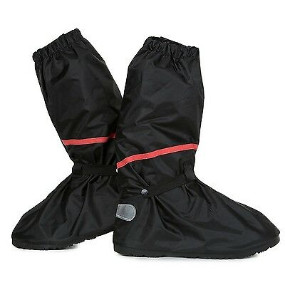 Reusable Anti-Slip Rain Shoe Covers Bike Waterproof Zipper Overshoes Boots Cover
