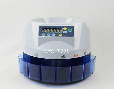 Automatic Coin Counter Sorter Electric Counting Machine for US coins 110V
