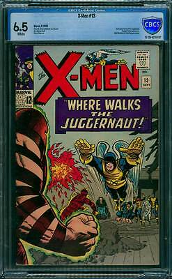 X-Men # 13  Where Walks the Juggernaut !  CBCS 6.5 scarce book !