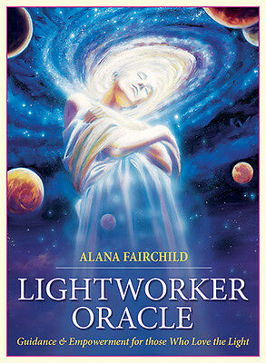 Lightworker Oracle NEW 44 color cards 140 page book A. Fairchild M. Duguay
