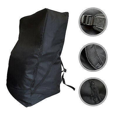 Universal Baby Car Seat Bag Padded Straps Backpack Travel Luggage Holiday Holder