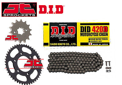 DID 420D Honda CRF150 R-7-9, A-G 2007 - 2016 CHAIN AND SPROCKET KIT