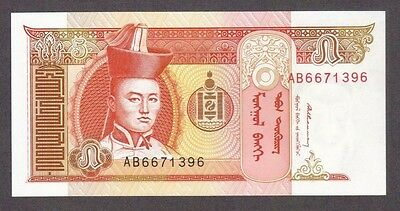 2008 5 Tugrik Genghis Khan Mongolia Currency Gem Unc Banknote Note Money Bill