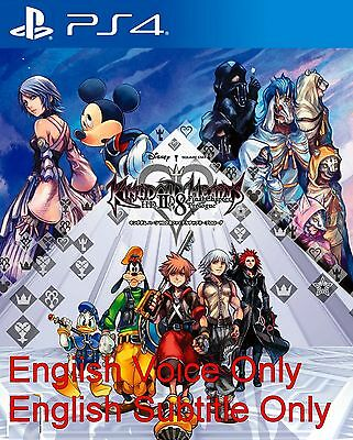 New Sony PS4 Games Kingdom Hearts HD 2.8 Final Chapter Prologue HK version Eng