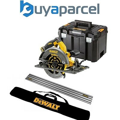 Dewalt DCS576N 54v XR FLEXVOLT Circular Saw 190mm + Guide Rail + Bag + Tstak