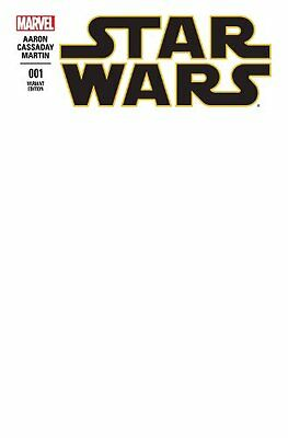 Star Wars 1 Blank Variant First Print
