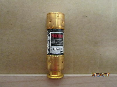 New, Bussman Frn-R-2 Time Delay Fuse, 2 Amps, 250V Ac Max., 20 Pc' S X Lot.