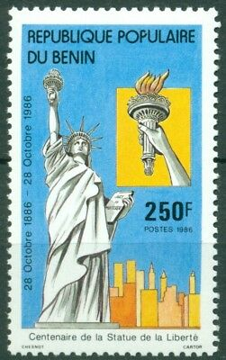 Benin Scott #635 MNH Statue of Liberty Centenary CV$3+