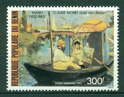 Benin Scott #C302 MNH Claude Monet Painting $$