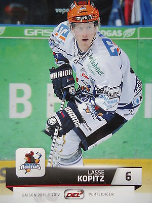 Sport Trading Cards Trading Cards 117 Thomas Holzmann Iserlohn Roosters DEL 2011-12