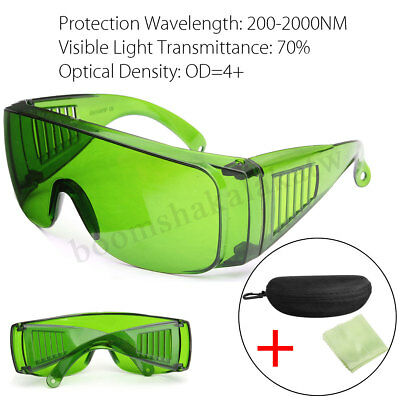 Laser Protection IPL Goggles 200-2000NM Protective Safety Glasses OD+4 With Box