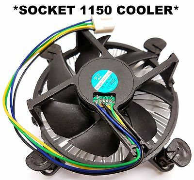 CPU Cooler Heatsink+Fan Socket LGA 1150 PC/MB 4th Gen Intel I3/i5/i7 Cooling*NEW