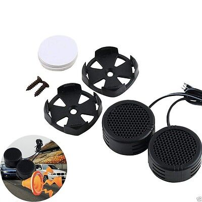 2 x 500 Watts Super Power Loud Dome Tweeter Speakers for Car 500W NEW H9
