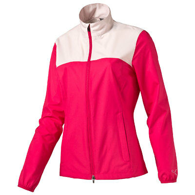 Puma Golf 2016 Womens Wind Tech Jacket 570549 Stretch Full Zip