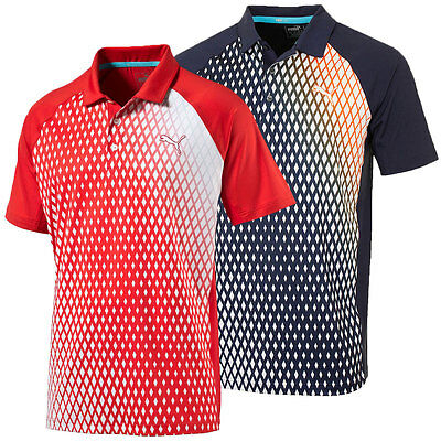 39% OFF RRP Puma Golf 2016 Mens GoTime Dimension PWRCOOL Polo Shirt 571156