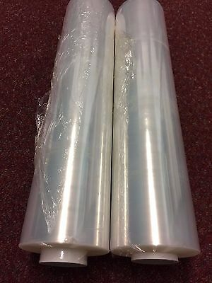 1 2 3 6 12 18 24 X STRONG ROLLS CLEAR PALLET STRETCH SHRINK WRAP CAST 400mm 14μ
