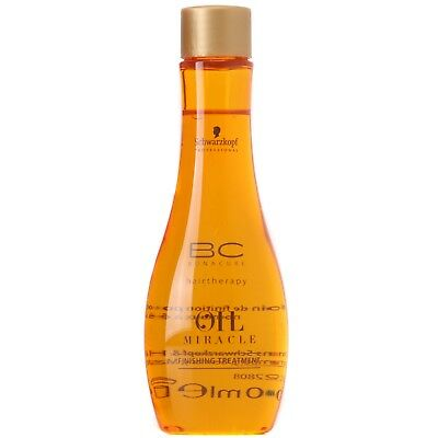 Schwarzkopf BC Bonacure Oil Miracle Finishing Treatment Normal/Thick Hair 100ml