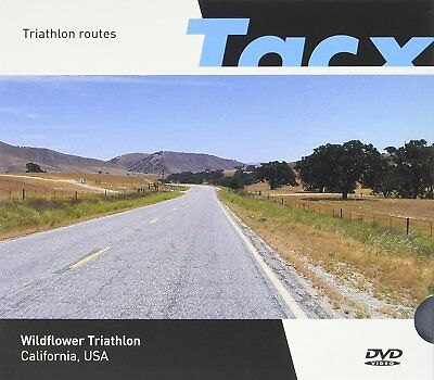 New TACX Film Training Video DVD Wildflower Triathlon California Triathlon 87km