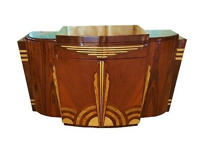 Imposing Quality Art Deco style Sideboard Credenza