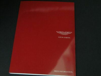 2007 Aston Martin Geneva Press Kit Pressmappe DBS Vanquish N24