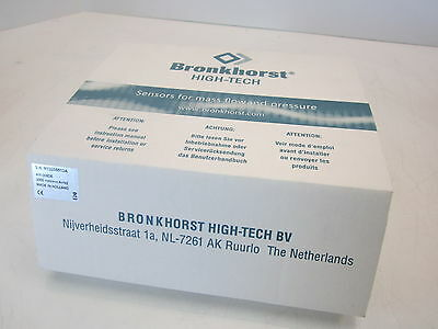 NEW - Bronkhorst High-Tech Mass Flow Control 30PSIA DNET 4M-4M AIX-005DE 2000min