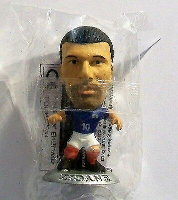 Microstars FRANCE (HOME) ZIDANE, SILVER BASE MC2123