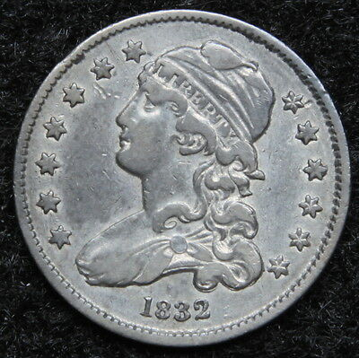 1832 Capped Bust Quarter 25 Cents -  Nice Coin, Free Shipping. (5242)