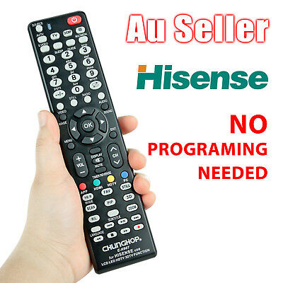 Universal Hisense Smart TV NO PROGRAMMING 4K HDTV 3D LED LCD Remote Control