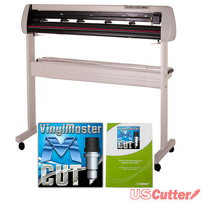 "34"" SC Series Vinyl Cutter w/VinylMaster Design & Cut Software, Contour Cutting"