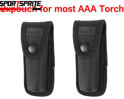 2xUltraFire small Flashlight Pouch/Torch Holster for most 1xAAA flashgliht torch